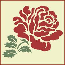 HEIRLOOM ROSE STENCIL SET - ROSE  STENCIL - The Artful Stencil