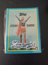 Supergirl -The Movie (Superman) - Complete 44 Sticker Card SET - 1984 Topps - NM