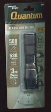 Quantum Focusing Tactical Flashlight 3 modes 588 lumens QFL-588