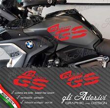 Set Adesivi Fianco Serbatoio Moto BMW R 1200 gs LC Executive 2017 RED