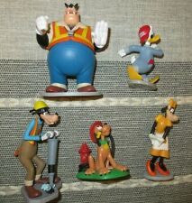 Mickey Mouse clubhouse figure toy playset Disney workmen Fireman Pluto Clarabell