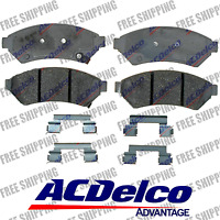 ACDelco Advantage 14D1075CH Front Disc Brake Pads Ceramic Fist Buick Saturn