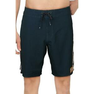 Billabong Mens DBAH Pro Navy Printed Swimwear Trunks Board Shorts 32 BHFO 2514
