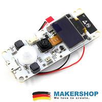 TTGO ESP32 Board + T-Camera + OLED + PIR - Kamera Mikrofon PIR Microphone
