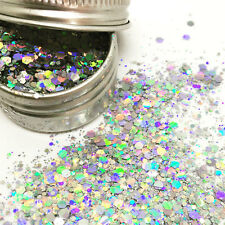 Chunky Mixed Glitter Pot-Nail Face Eye Body Tattoo Festival Dance Cosmetic Club