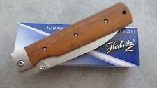 Couteau pliant japonais Herbertz manche bois
