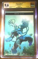 Uncanny X-Men #8 CGC 9.6 signed by Matt Rosenberg