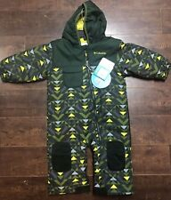 Columbia Sportswear Hot Tot Suit Snowsuit Green Infant Toddler Size 12-18 Months