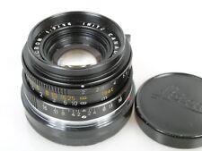 LEITZ CANADA Leica Summicron M 2,0/35 35mm 1:2 2/35 mm
