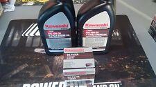 Kawasaki OEM 10W30 Motor Oil 2 Quart with Filter 49065-7007