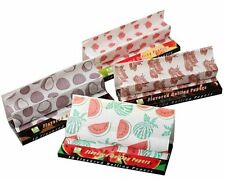 4 Packs of Assorted Flavored King Sized Rolling Papers (Sample pack)