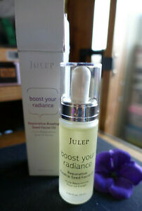 Julep boost your radiance reparative rosehip seed facial oil new in box 0.85oz