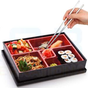 UK Bento Box Japanese Lunch Box Chopsticks Rice Sush
