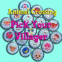 Animal Crossing Amiibo Coin YOU PICK ANY Villagers - New Horizons Custom Coins