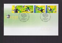 Australia 2006 Soccer Germany FIFA World Cup FDC inc International Stamps J-441