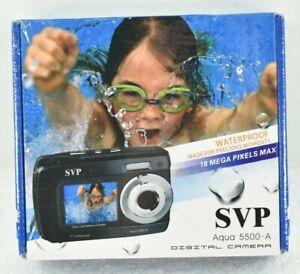 SVP Aqua 5500-A Waterproof 18MP Digital Camera