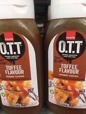 Macphie - OTT toffee flavour Dessert Topping Sauce 500g