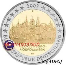 5x2 Euro Commémorative Allemagne 2007 - Chateau de Schwerin