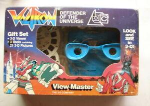 Voltron 80s anime classic View master gift set 1984  MIP TV Sci fi cartoon  A21