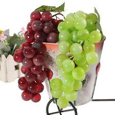 1-10pcs Bouquet Réaliste Artificiel Plastique Grappes Fausse Pr Maison Jardin NF