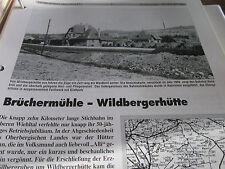 Neben - Schmalspurbahnen 8 Nordrhein Westfalen Brüchermühle Wildbergerhütte 6 S