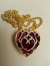Legend of Zelda Cosplay Necklace Skyward Sword Heart Container keychain pendant