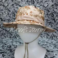 Airsoft Paintball Gear MIL-SPEC Marine Boonie Hat Cap Desert Digital Camo