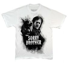 The Walking Dead Daryl Dixon Sorry Brother Licensed Adult T-Shirt