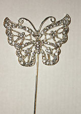 Butterfly Diamante Cake Topper, Stunning, Delicate Rhinestone Topper, Sugarcraft