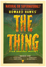 1950's Sci-Fi  * The THING from Another World *  Movie  Poster 1951