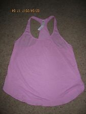 WOMENS LULULEMON 105F SINGLET TANK - THE ONE WITH SCALLOP EDGES - SIZE 10