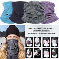 Fleece Balaclava Half Mouth Cover Face Bandana Head Neck Tube Scarf Neck Gaiter