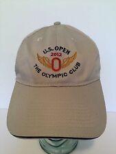 US Open 2012 The Olympic Club Hat Adjustable Brown USGA