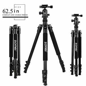 ZOMEI Q555 Camera Tripod Heavy Duty Aluminium&Ball Head for Canon Nikon Sony