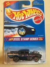 1994 Hot Wheels New Steel Stamp Series '57 Chevy