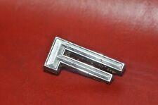 1966 Ford Galaxie Letter Emblem Metal F F Letter Oem Hood Choice Of 1 F