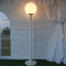 Portable Post Light Lamp Outdoors Party Event Catering Wedding Church [STLUM1DWH