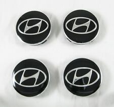 Center Hub Caps 59/56mm For HYUNDAI Alloy Wheels Rims 4 Pcs Set New Aluminum