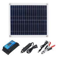 20W Solarpanel Polykristalline Solarzelle Solarmodul mit 10A 12V/24V Solarregler