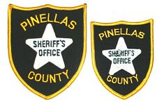 PINELLAS COUNTY FLORIDA FL - SET of 2 - Police Sheriff Patch GROUP LOT ~