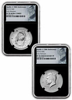 2019 S Apollo 11 2-Coin Clad Half Dollar Set NGC PF70 ER Black Core SKU57114
