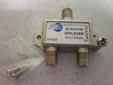 LOT of 46 - VHF/UHF ANT Satellite Diplexer Combiner 40-2150Mhz DC PASS 35-SDX100