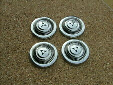 1969-71 Dodge D100 truck dog dish hubcaps, set 4, NOS! A100