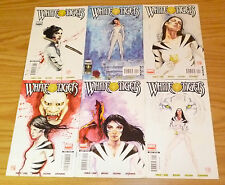 White Tiger #1-6 VF/NM complete series - latina super hero from marvel comics