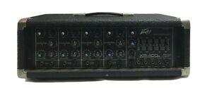 Vintage USA PEAVEY XR-400 4 Channel Mixer 200H Power Module Amplifier Amp