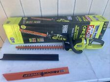 Ryobi P2606B 18V One+ 22 in. Cordless Hedge Trimmer Tool Only