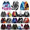 Animal 3D Print Kid Boys/Girls Hoodie Sweatshirt Pullover Jumper Top Coat Spring