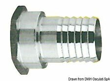 Portagomma inox femmina 3/4 x 25 mm | Marca Osculati | 17.210.05