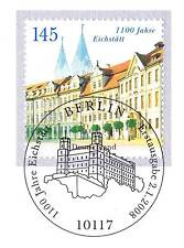 BRD 2008: Eichstätt 1100 Jahre! Nr. 2638 mit Berliner Ersttagsstempel! 1A! 1607
