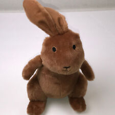 """Kohls Cares We're Going On An Egg Hunt Plush Brown Bunny 12"""" Rabbit Stuffed Toy"""